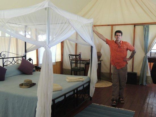 Maramboi Tented Camp: Inside of tent