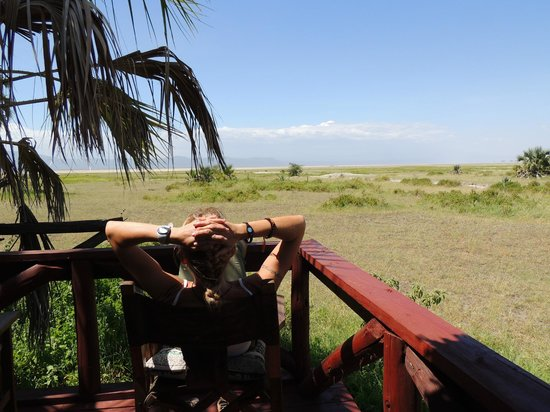 Maramboi Tented Camp: View on the savannah