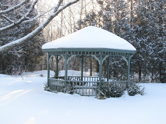 Evergreen Forest B&B:                   Gazebo