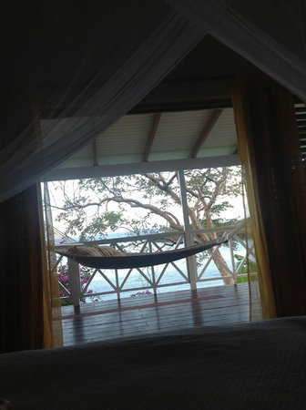 Ti Kaye Resort & Spa:                   View from the Bed