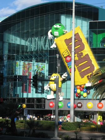Vegas M Amp M S Picture Of M Amp M S World Las Vegas Las Vegas