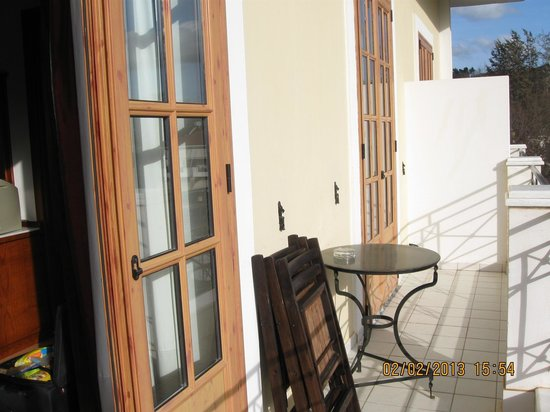 Hotel Pelops: Balcony