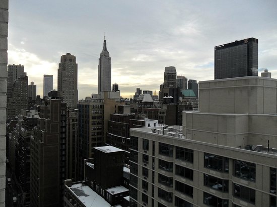 Hampton Inn Manhattan/Times Square South:                   vista desde el piso 32