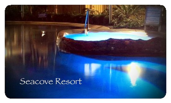 Seacove Resort: A evening spa to end a relaxing day at Coolum Beach