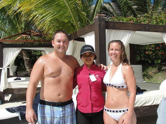 Majestic Elegance Punta Cana :                   Yokasty - Poolside waitress