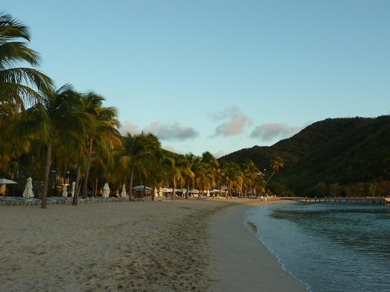 Carlisle Bay Antigua: Beach