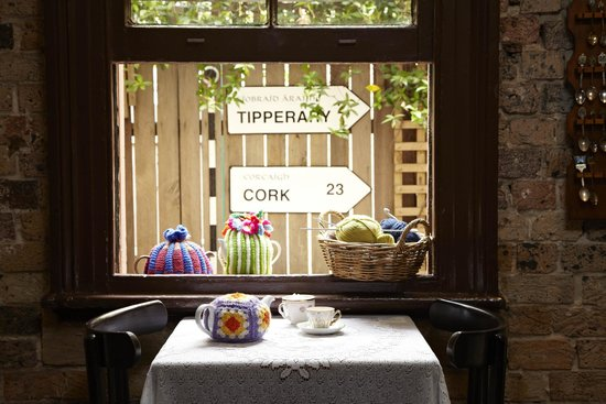 The Tea Cosy: Our window seat.