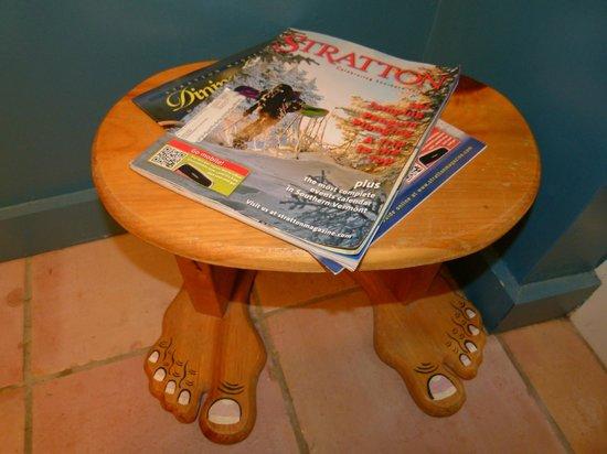 Yoga BnB: A foot stool