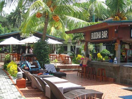 Padang Bai Beach Resort: Buddha Bar