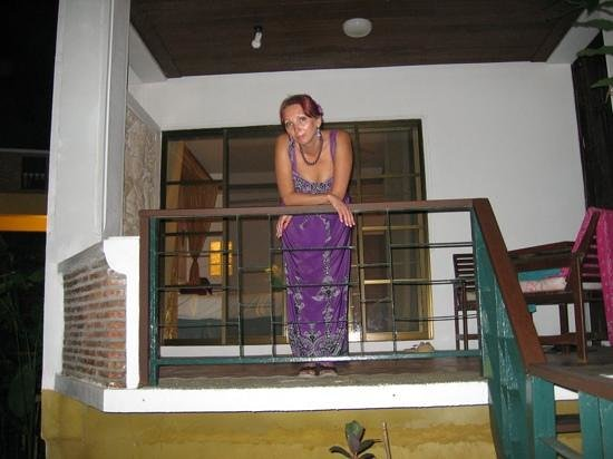 Koh Chang Cliff Beach Resort:                   балкон нашего номера