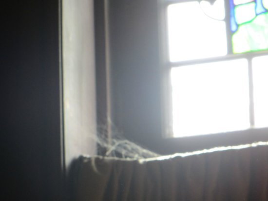 Mansions On Fifth Hotel: cobwebs in room
