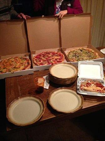 Pizza Shack:                   delish