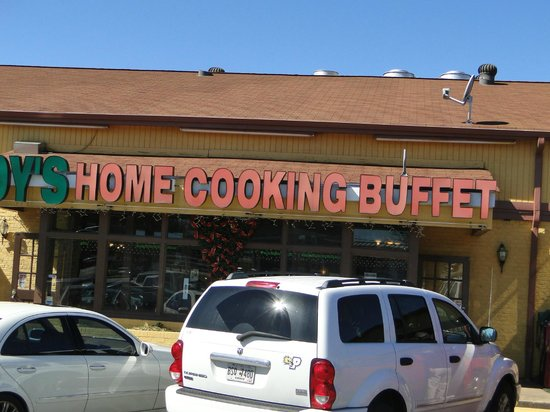 Joy's Home Cooking:                   Look for the sign!