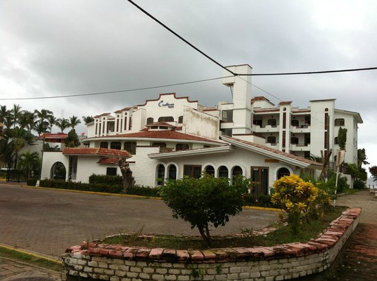 Casablanca Resort:                   fachada posterior