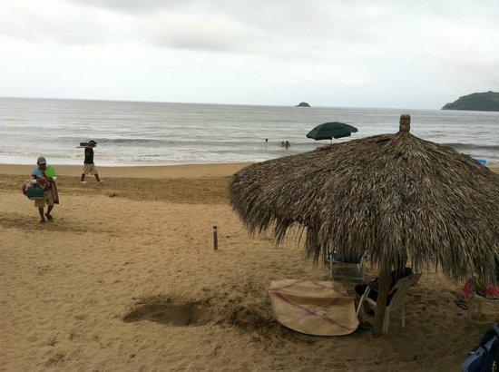 Casablanca Resort :                   playa