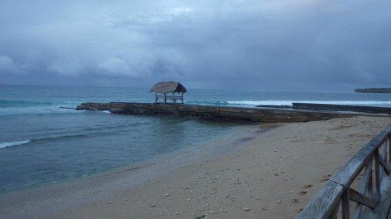 Sandy Point Beach Club pier