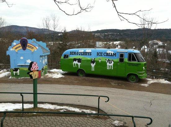 Ben & Jerry's:                   Tour bus - no longer used