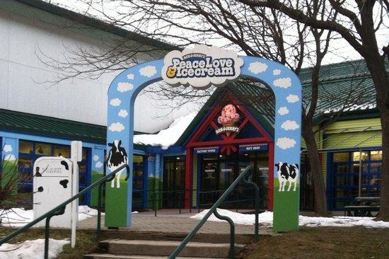Ben & Jerry's:                   Front Entrance
