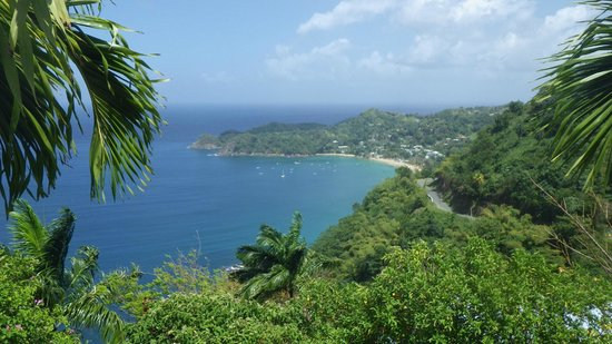 Sandy Point Beach Club: Caribbean (West) side of Tobago