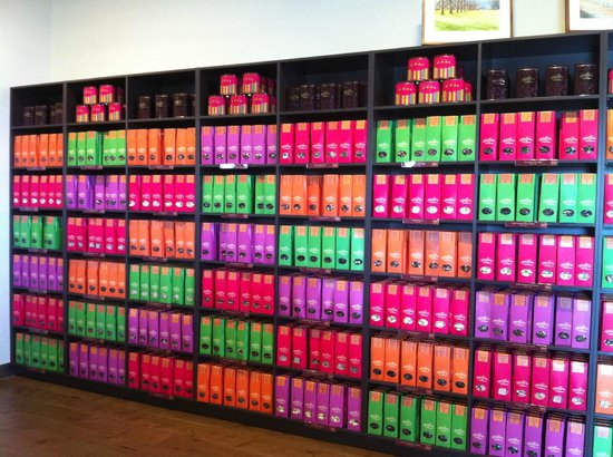 Yarra Valley Chocolaterie & Ice Creamery:                                     Wall of chocolate ;)