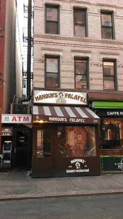 Photo of Fast Food Restaurant Mamoun's Restaurant at 119 Macdougal St, New York, NY 10012, United States