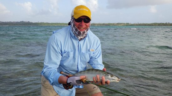 Sandy Point Beach Club: Tobago bonefish on the fly