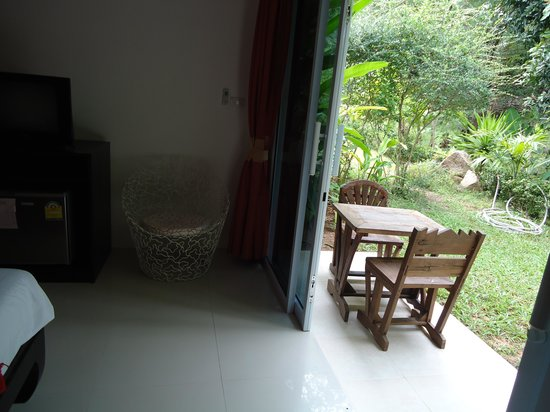 Siva Buri Resort:                   Garden