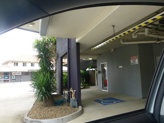 Rocklea International Motel : reception area