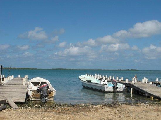 Turneffe Island Resort:                   Other side of the island