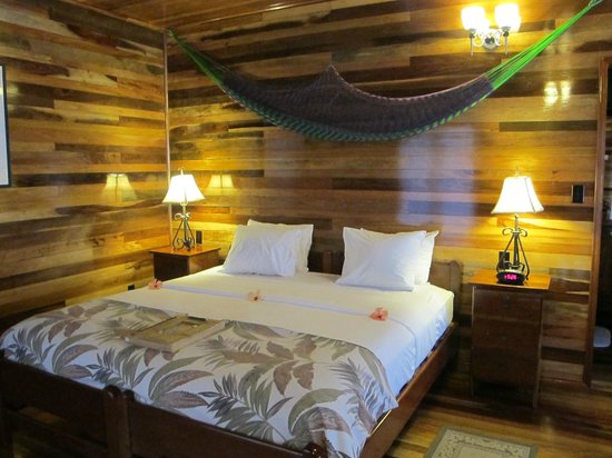 Turneffe Island Resort:                   Our room