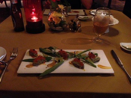 Fai - the dining experience :                   Shrimp tartar