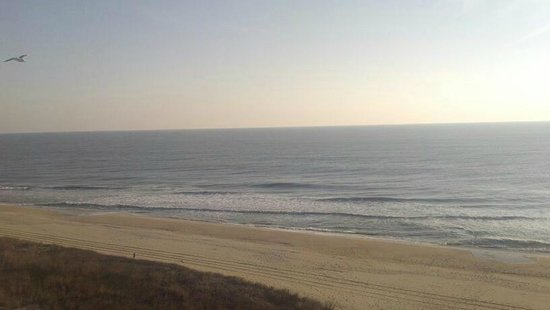 Holiday Inn Ocean City:                   View from 7th flr room balcony