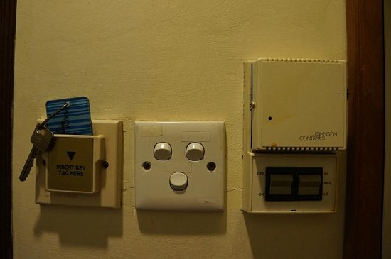 Summer View Hotel: Power switch