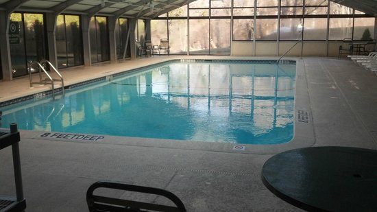 La Quinta Inn & Suites Elmsford :                   Indoor Pool