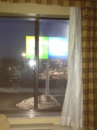 Holiday Inn Express Fenton:                   A room with a view!