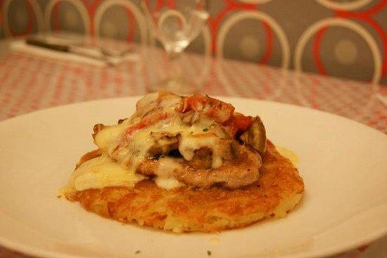Cafe Bunga Bali: Pork Pepino with Rosti