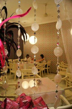 Cafe Bunga Bali interior