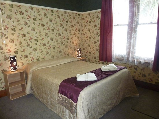 Anchor Motel & Timaru Backpackers: 5 bedroom house bedroom