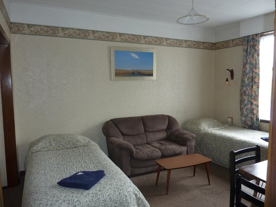 Anchor Motel & Timaru Backpackers : 1 bedroom unit