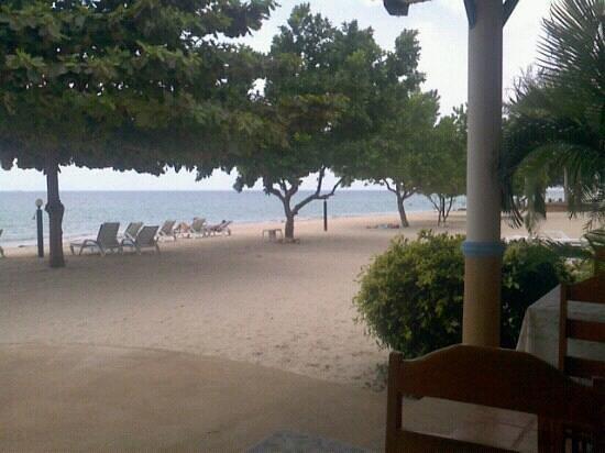 Rung Arun Resort:                   Desde el restaurant
