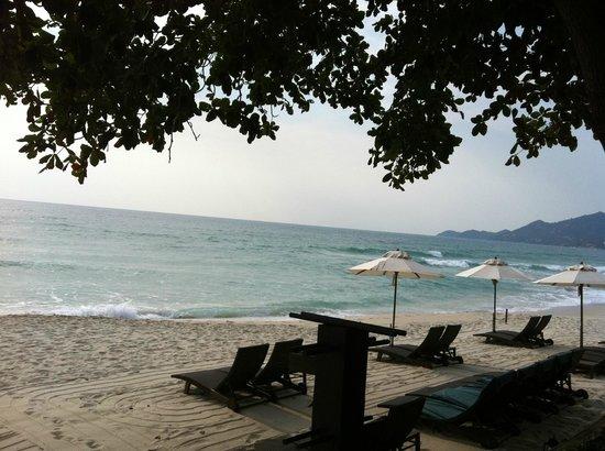 Buri Rasa Village Samui:                   La plage