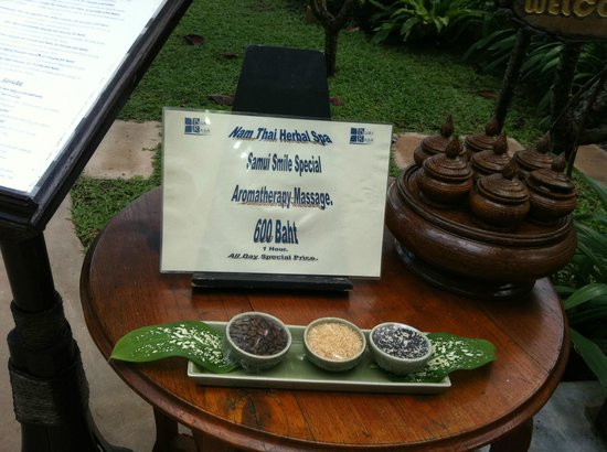Buri Rasa Village Samui:                   La promotion au spa