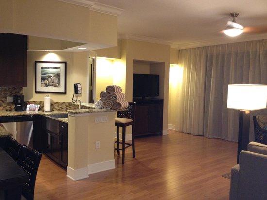 Oasis Lakes Resorts :                   Kitchen area