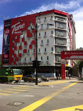 Tune Hotel Kuala Lumpur: The Tune Hotel at Maju Junction