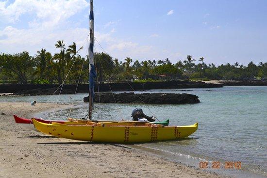 Mauna Lani Bay Hotel & Bungalows:                   Boat rental