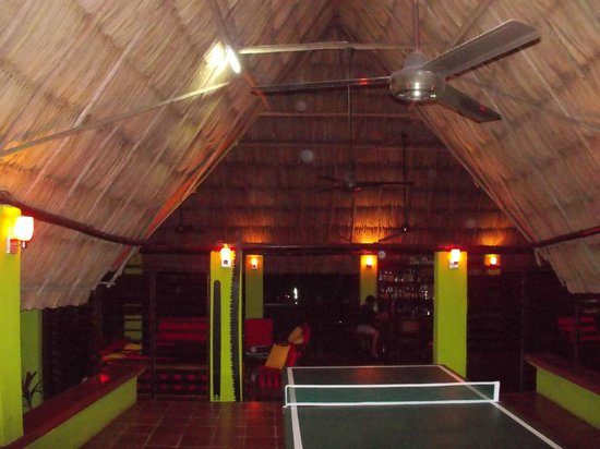 Windy Hill Resort:                   lounge area with pool table and ping pong table