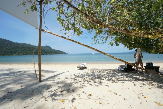 The Andaman, A Luxury Collection Resort:                   ビーチ