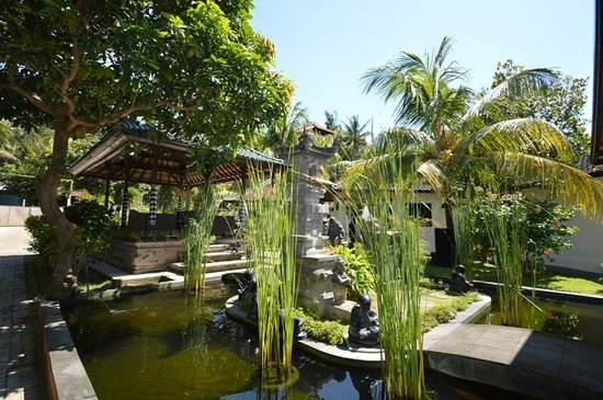 Padang Bai Beach Resort: Fish Pond