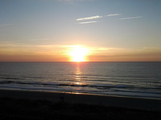 Courtyard by Marriott Carolina Beach:                                     The perfect view