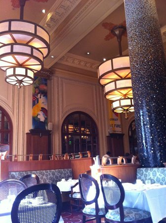 The Marker San Francisco, A Joie de Vivre Hotel: The Grand Cafe just off the lobby